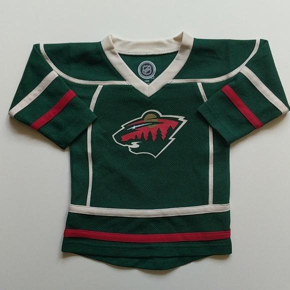 competitive price e028a cd463 NHL Minnesota Wild 18M jersey